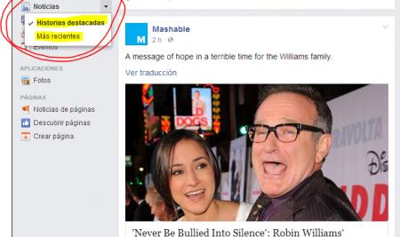 ¿Cómo decide Facebook que historias mostrarte cuando visitas tu perfil?