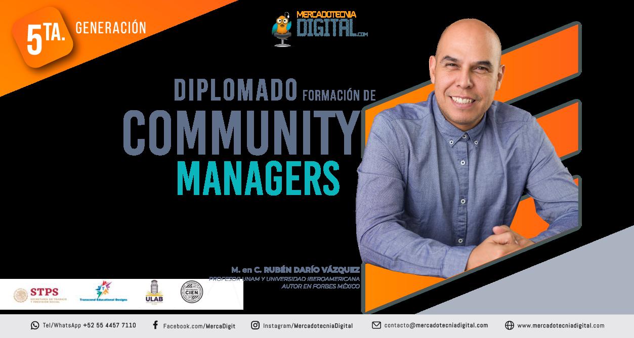 Diplomado formación de community managers